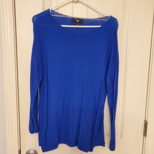 Mossimo electric blue sweater
